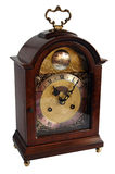 Antique table clock Royalty Free Stock Photos