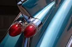 Antique taillights Stock Images