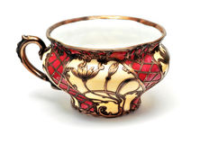 Antique tea cup Royalty Free Stock Image