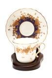 A antique tea cup Stock Images