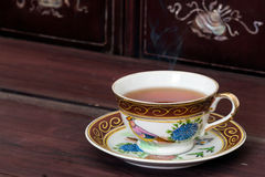 Antique tea cup Stock Photography