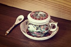 Antique tea cup. Stock Photography