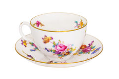 Antique tea cup. Royalty Free Stock Photos