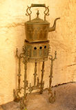 Antique tea maker from Morocco Royalty Free Stock Photos