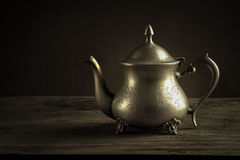 Antique tea pot Stock Photography