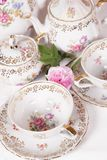 Antique tea set Stock Image