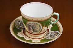 Antique teacup Royalty Free Stock Photo