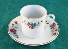 Antique teacup Stock Image