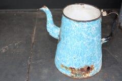 Antique teapot Stock Image