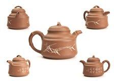 Antique teapot Stock Images