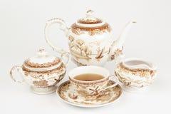 Antique teapot Stock Photos