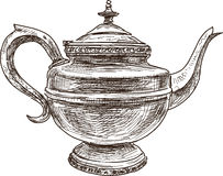 Antique teapot Royalty Free Stock Image