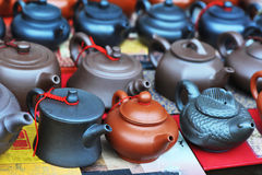 antique teapots Royalty Free Stock Images