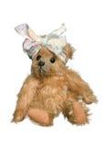 Antique teddy bear stock photography