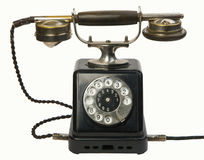 Antique telephone Stock Photo