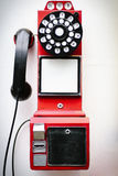 An antique telephone displayed in a hotel in Beijing Royalty Free Stock Images