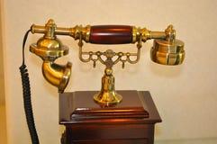 Antique telephone Stock Photography