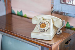 Antique telephone Stock Photos