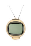 Antique  television broadcasting Royalty Free Stock Photo