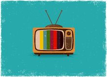 Antique television Royalty Free Stock Photos