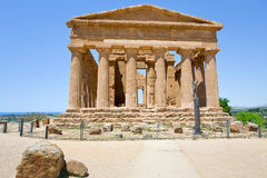 Antique Temple of Concordia Stock Photos