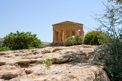 Antique Temple of Concordia Royalty Free Stock Image