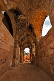 Antique temple nearby Ashkelon in Israel Royalty Free Stock Photo