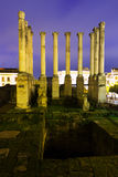 The antique temple of the Roman Empire. Cordoba Royalty Free Stock Photography