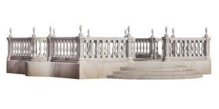 Antique terrace Stock Image