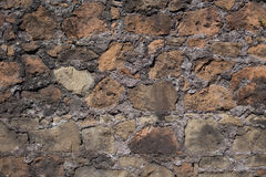 Antique textured wall from stone Royalty Free Stock Image