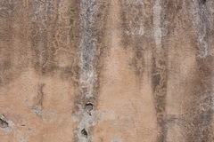 Antique textured wall from stone in Rome Stock Images