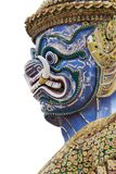 Antique Thai blue face giant Royalty Free Stock Images