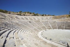 Antique theater in Bodrum, Turkey Royalty Free Stock Image