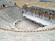 Antique theatre. Old antique theatre. Turkey, Anatolia Stock Photo