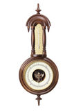 Antique Thermometer and Hygrometer Stock Images