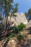 Antique Thracian Sanctuary Eagle Rocks near town of Ardino, Bulgaria. Antique Thracian Sanctuary Eagle Rocks near town of Ardino, Kardzhali Region, Bulgaria Stock Image