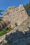 Antique Thracian Sanctuary Eagle Rocks near town of Ardino, Bulgaria. Antique Thracian Sanctuary Eagle Rocks near town of Ardino, Kardzhali Region, Bulgaria Stock Photos