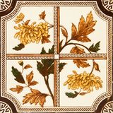 Antique Tile Royalty Free Stock Photo