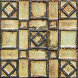 Antique tile Royalty Free Stock Photography