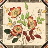 Antique Tile Stock Photography