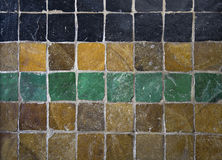Antique tiles Stock Photography