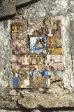 Antique tiles Royalty Free Stock Photography