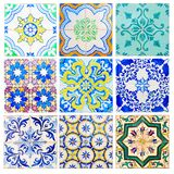 Antique tiles of Sintra Royalty Free Stock Images
