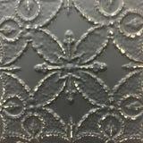 Antique tin ceiling moulding tile design Stock Photography