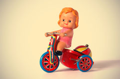 Antique tin toy.  Royalty Free Stock Photography