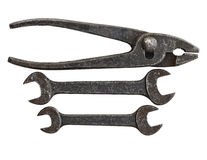 Antique Tool Set Stock Image