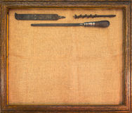 Antique Tools Royalty Free Stock Photo