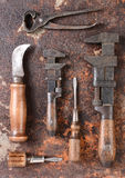 Antique Tools Stock Photography
