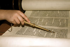 Antique Torah Royalty Free Stock Photo