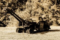 Antique Wrecker Royalty Free Stock Images